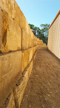 South Brisbane Sandstone Rock Walls