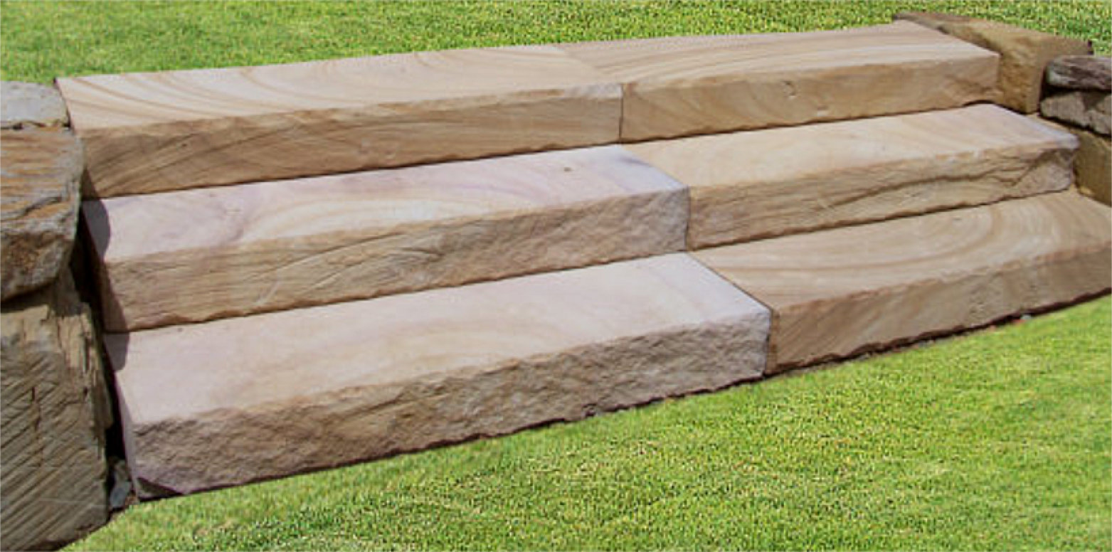 South Brisbane Sandstone Retaining Rock Walls